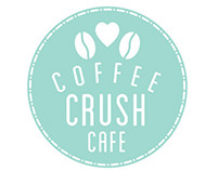 Coffee Crush Cafe Logo Design