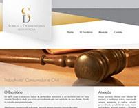 Sobral & Dermendjian - Site e Logotipo