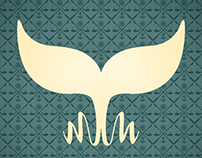 Melville's Mug Logo and Trifold Menu '12