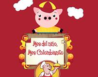 Mes de niño mes colombiano / 2014