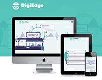DigiEdge: UI/UX Design, Interaction Design