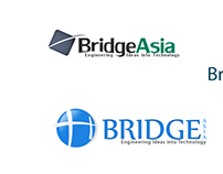 Bridge Asia Logo design