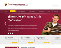 Institue Website Design