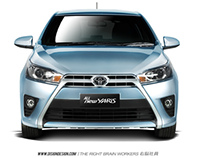 Digital Imaging - All New Yaris