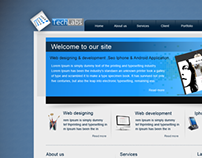 Techlabs Software house web & logo design