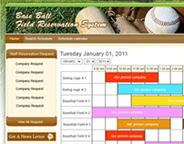 Base Ball Field Reservation System