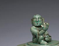 Celadon with Taekwon-Bodhisattva Mk.1