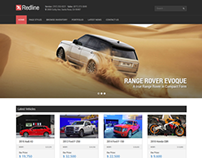 Redline - Car Dealership Wordpress Theme