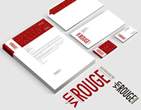 'Vin Rouge Incorporated' Corporate Identity
