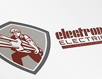 Electron Electric Power Logo Template