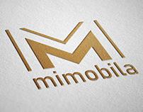 Concept logo for furniture company MiMobila.