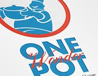 One Pot Wonder Homestyle Cuisine Logo Template