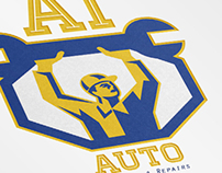 Auto Services and Repair Logo Template