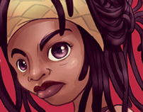 Michonne - Girl Power Collab