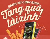 Zoka's promotion : One smartphone for lucky customer