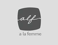 a la femme (Logo Concepts)