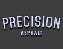 Precision Asphalt Logo Design