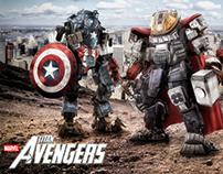 Marvel Titan Avengers