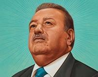 Carlos Slim cover portrait for Institutional Investor.