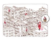 Christmas in Taipei 找不到煙囪的台北聖誕節〉