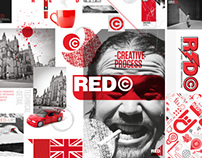 RED GRAPHIC DESIGN