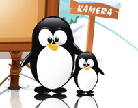 Pinguin kindergarten WEB design