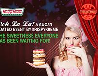 Krispy Kreme / Store Launch @Tangs Orchard