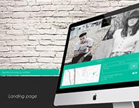 Webdesign for store