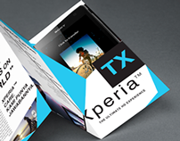 Re-layout Series Brochure : Sony Xperia