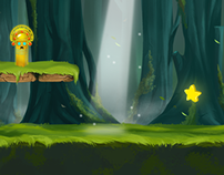 """Lighting Boy""--app game,Kizipad"