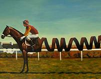 Painting: Slinky Lad
