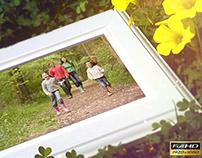 Spring family slideshow