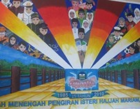 Mural: SMPIHM's Silver Jubilee