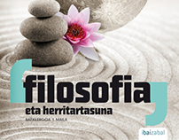 Ibaizabal argitaletxea / Philosophy book cover