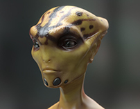 Alien Animation Test