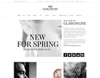 Glam Online - Online Shop (Germany 2013)