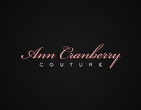 Ann Cranberry COUTURE product branding