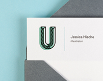 jessica hische the daily drop cap stationery