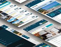 Caribbean Hotels App Concept
