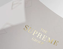 "Corporate Design für ""The Supreme Group"""
