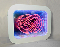 Neon Light Infinity Mirror