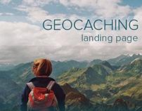 Geocaching   Landing Page