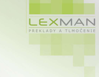 Folder for Lexman - translation company