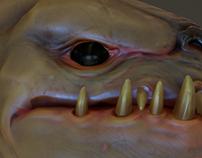 Creature bust