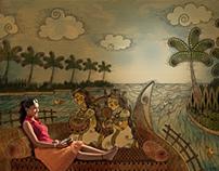 Bekal Campaign Back Water - Kerala Tourism