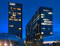 Hyatt - Düsseldorf Medienhafen - Hafenspitze