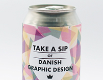 Take a sip of Danish graphic design