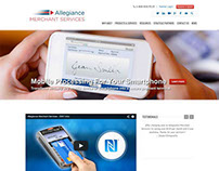 Allegiance Merchant Services - WordPress website