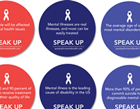 Speak Up Awareness Stickers