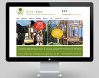 GreenLynx Website by DK Design Studio